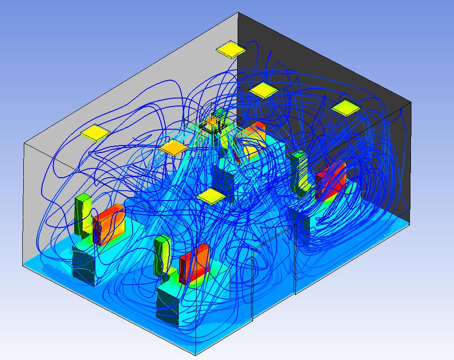 Ứng dụng CFD mô phỏng HVAC